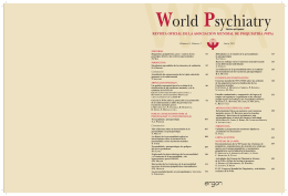 Junio 2011 - World Psychiatric Association