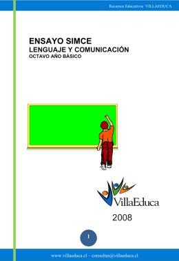 ENSAYO SIMCE - Educación y tecnología Iqq