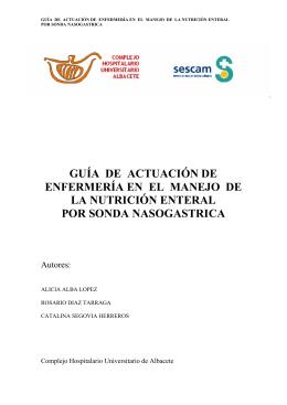 PROTOCOLO - Complejo Hospitalario Universitario de Albacete