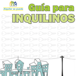 INQUILINOS - Alquilar se puede