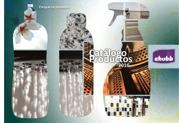 catalogo productos chubb