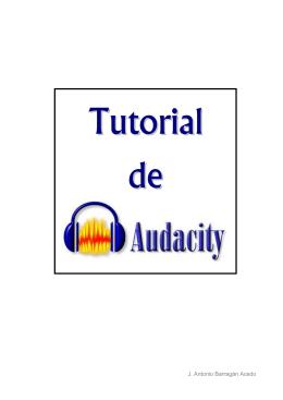 Edicion de sonido con Audacity