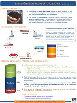 El petróleo: Del yacimiento al motor