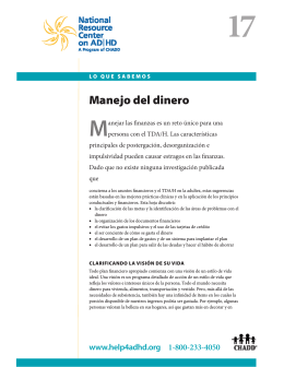 versión PDF - National Resource Center on ADHD