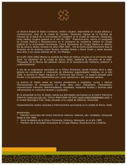 Dra. Angela Di Stasio Contreras