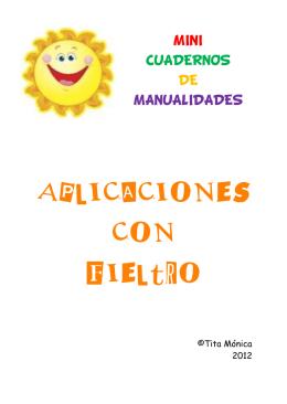 cuadernos de manualidades. aplicaciones