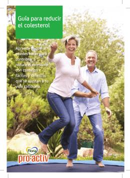 Guía para reducir el colesterol - RETO pro