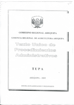 GOBIERNO REGIONAL AREQUIPA - Portal del Estado Peruano