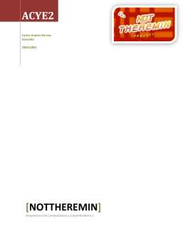 Proyecto notThereMin