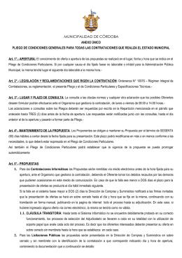 Córdoba, 18 de Marzo de 2004