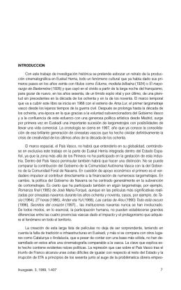 El cine del País Vasco: de Ama Lur (1968) a Airbag (1997