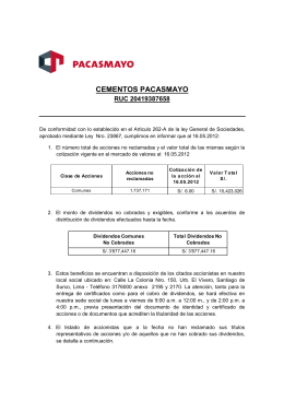 Documento Accionistas
