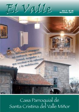 Casa Parroquial de Santa Cristina del Valle Miñor