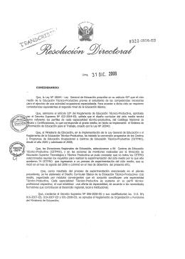 Ciclo Medio - Ministerio de Educación del Perú
