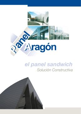 el panel sandwich