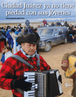Ciudad Juárez ya no tiene piedad con sus jóvenes