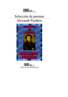 Poemas de Pushkin