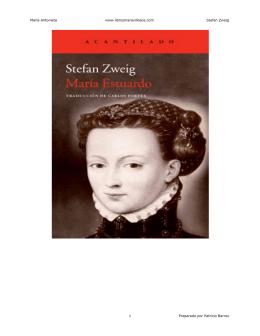 María Antonieta www.librosmaravillosos.com Stefan Zweig