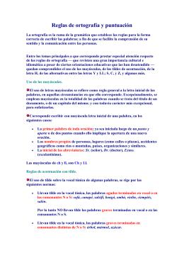 reglas de ortografia - docentes.uto.edu.bo