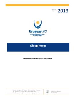 Oleaginosos - Uruguay XXI