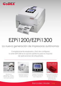 La nueva generación de impresoras autónomas