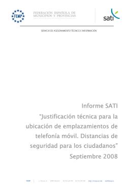Informe SATI