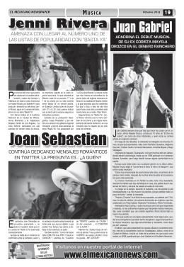 Juan Gabriel - El Mexicano News