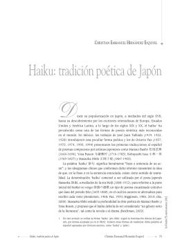 Haiku: tradición poética de Japón