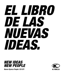 NEW IDEAS NEW PEOPLE