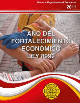 Memoria Bomberos 2011 - Benemérito Cuerpo de Bomberos de