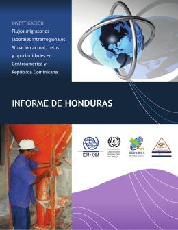 INFORME DE HONDURAS - Secretaría de Trabajo y Seguridad Social
