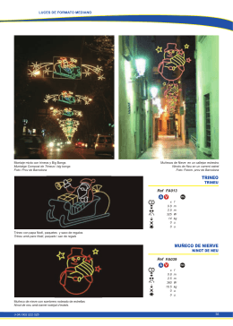 MUÑECO DE NIERVE TRINEO - Iluminaciones y luces de Navidad