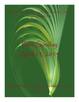 April 13_ 2014 - St. Catherine of Siena Parish