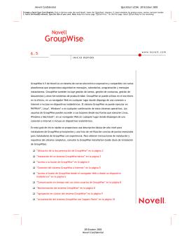 GroupWise®