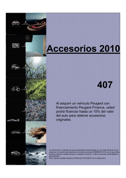 Catalogo Accesorios 2010 407 Web