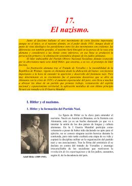 17. El nazismo. - IES Bachiller Sabuco