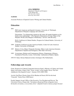 Education Fellowships and Awards