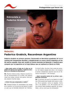 Entrevista a Federico Grabich