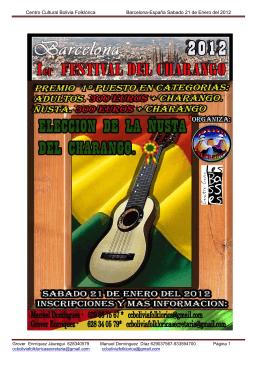 2º Festival del Tinku y Caporal