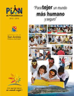 Plan de desarrollo del departamento Archipiélago San Andrés