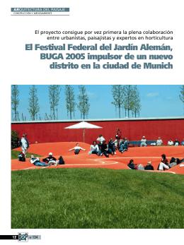 El Festival Federal del Jardín Alemán, BUGA 2005