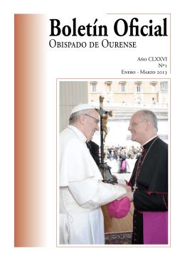Boletín Oficial del Obispado de Ourense