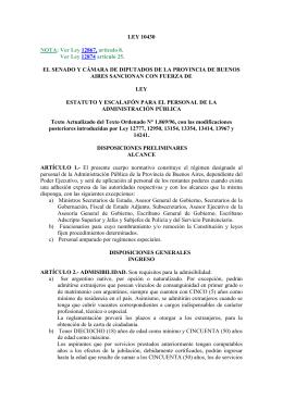 Texto de la Ley 10430 - Ministerio de Salud de la Provincia de
