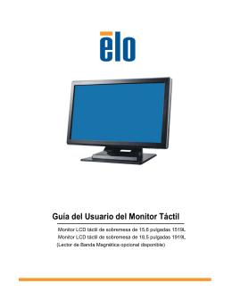 Guía del Usuario del Monitor Táctil