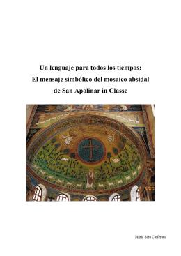 El mensaje simbólico del mosaico absidal de San Apolinar in Classe