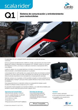 Q1 Sistema de comunicación y entretenimiento