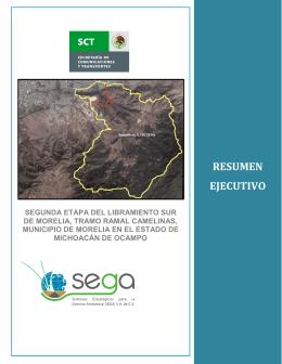 Segunda Etapa del Libramiento Sur de Morelia, Tramo Ramal