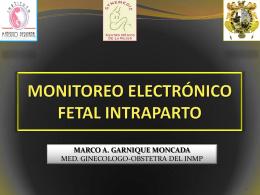 MONITOREO FETAL INTRAPARTO
