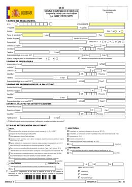 Gu a de tr mites i presentaci n de solicitudes for Oficinas de trabajo temporal en barcelona
