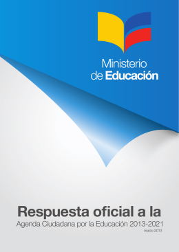 documento adjunto. - Ministerio de Educación
